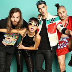 Kissing Strangers: DNCE in airplay